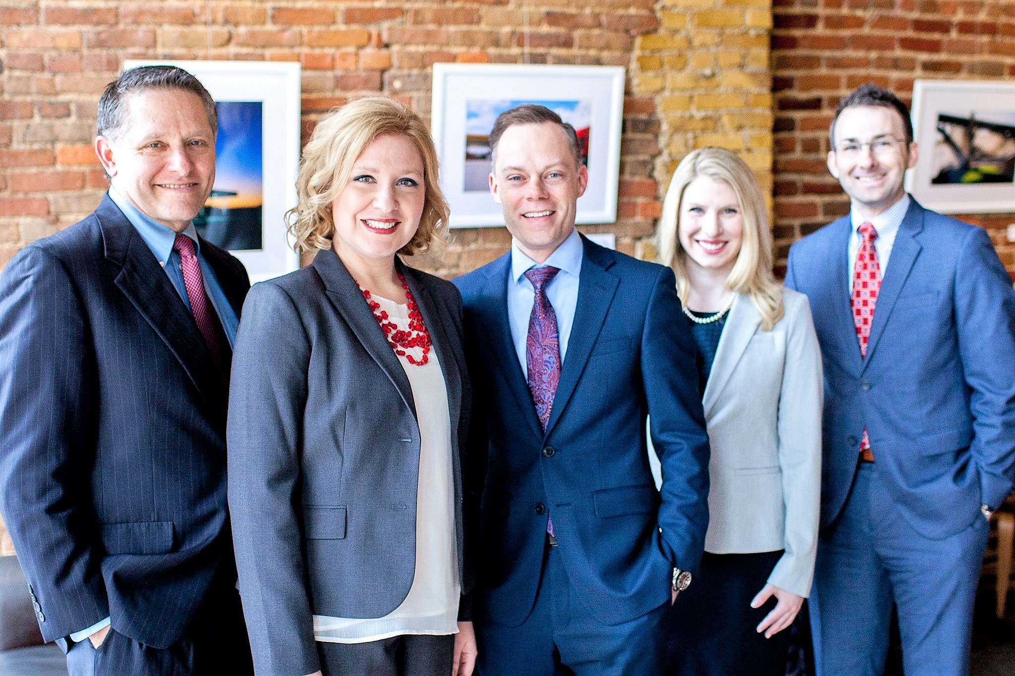 From left to right: Danielle R. Kerckhoff, Heather Rooney McBride, Scott A. Smith and Nicole D. Lindsey